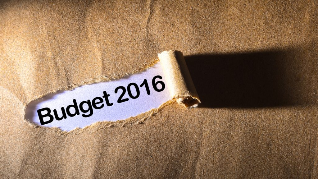 The Federal Budget 2016