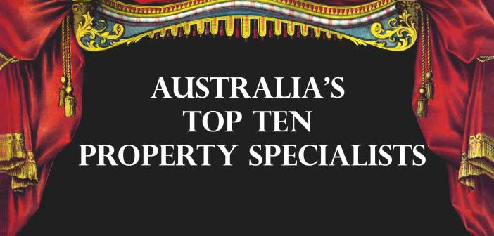 Australia's Top Ten Property Specialists 2018